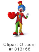 Colorful Clown Clipart #1313166 by Julos
