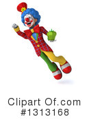 Colorful Clown Clipart #1313168 by Julos