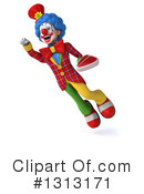 Colorful Clown Clipart #1313171 by Julos