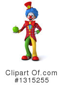 Colorful Clown Clipart #1315255 by Julos