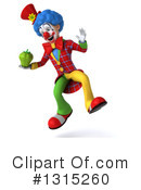 Colorful Clown Clipart #1315260 by Julos