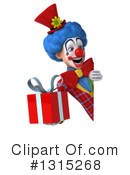 Colorful Clown Clipart #1315268 by Julos