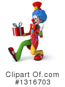 Colorful Clown Clipart #1316703 by Julos
