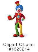 Colorful Clown Clipart #1320214 by Julos