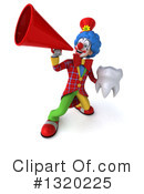 Colorful Clown Clipart #1320225 by Julos
