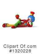 Colorful Clown Clipart #1320228 by Julos