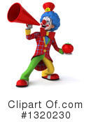Colorful Clown Clipart #1320230 by Julos