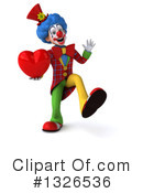 Colorful Clown Clipart #1326536 by Julos
