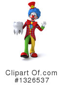 Colorful Clown Clipart #1326537 by Julos