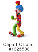 Colorful Clown Clipart #1326538 by Julos