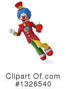 Colorful Clown Clipart #1326540 by Julos