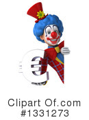 Colorful Clown Clipart #1331273 by Julos