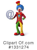 Colorful Clown Clipart #1331274 by Julos