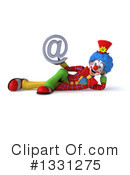 Colorful Clown Clipart #1331275 by Julos