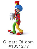 Colorful Clown Clipart #1331277 by Julos