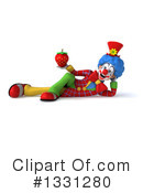 Colorful Clown Clipart #1331280 by Julos