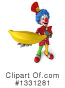 Colorful Clown Clipart #1331281 by Julos