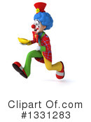 Colorful Clown Clipart #1331283 by Julos