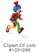 Colorful Clown Clipart #1331286 by Julos