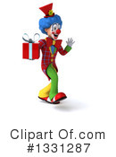 Colorful Clown Clipart #1331287 by Julos