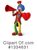 Colorful Clown Clipart #1334631 by Julos