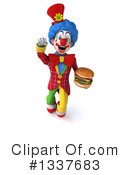 Colorful Clown Clipart #1337683 by Julos
