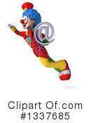 Colorful Clown Clipart #1337685 by Julos