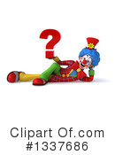 Colorful Clown Clipart #1337686 by Julos