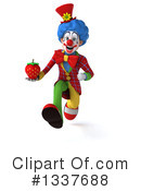 Colorful Clown Clipart #1337688 by Julos