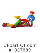 Colorful Clown Clipart #1337689 by Julos