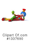 Colorful Clown Clipart #1337690 by Julos