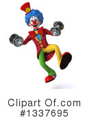 Colorful Clown Clipart #1337695 by Julos