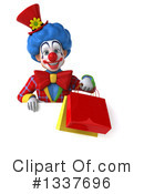 Colorful Clown Clipart #1337696 by Julos