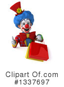 Colorful Clown Clipart #1337697 by Julos