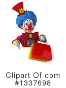 Colorful Clown Clipart #1337698 by Julos