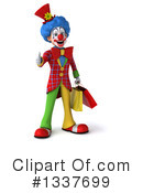 Colorful Clown Clipart #1337699 by Julos