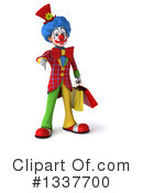 Colorful Clown Clipart #1337700 by Julos