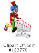 Colorful Clown Clipart #1337701 by Julos