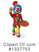 Colorful Clown Clipart #1337703 by Julos