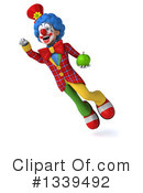 Colorful Clown Clipart #1339492 by Julos