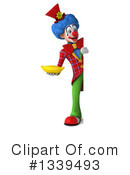 Colorful Clown Clipart #1339493 by Julos