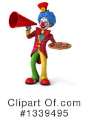 Colorful Clown Clipart #1339495 by Julos