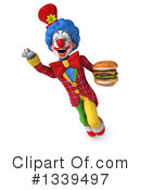 Colorful Clown Clipart #1339497 by Julos