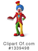 Colorful Clown Clipart #1339498 by Julos