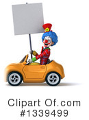 Colorful Clown Clipart #1339499 by Julos
