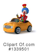 Colorful Clown Clipart #1339501 by Julos