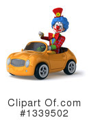 Colorful Clown Clipart #1339502 by Julos
