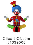 Colorful Clown Clipart #1339506 by Julos