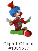 Colorful Clown Clipart #1339507 by Julos