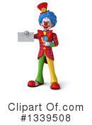 Colorful Clown Clipart #1339508 by Julos